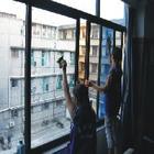 擦窗户玻璃清洗玻璃幕